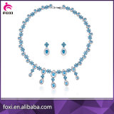 China Factory Supplier Arabic Wedding Dubai White Gold Jewelry Set