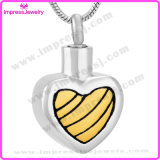 Urn Jewelry Necklace Stainless Steel Heart Pendant Ijd9711
