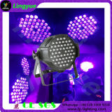 Indoor Stage 54X3w Ly China LED PAR Can UV Light