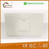 Ce Approved 25years Guarantee Samll Button 1gang Lighting Electric Switch