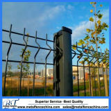 PVC Coated Welded Triangle Bending Curved Fence Panels