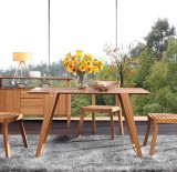 Solid Bamboo Dining Table Set