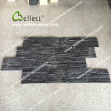 Black Nero Marquina Marble Type Culture Stone for Indoor Decor