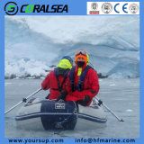 PVC/Hypalon Material Foldable Inflatable Water Boats with High Qualiyt