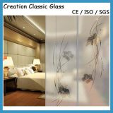 Hot Sale Tempered Frosted Glass Used for Shower Door