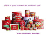Canned Tomato Paste for All Tin Sizes