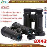 China Factory Jaxy Dcf Binocular Bk4 Prism Waterproof Bird Watching Binoculars Wd842r 8X42
