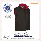 Waterproof Poly Double Side Vest with Side Pocket