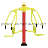 Traditional Red&Yellow Series Outdoor Gym Equipment Push Chairs
