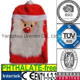 Soft Lavender Stuffed Christmas Santa Microwave Heat Wheat Toy