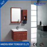 High Quality Wall Wood Bathroom Vanity Modern with Side Cabinet