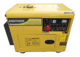 5kVA/6kVA/7kVA/8kVA Soundproof 3 Phase Diesel Generator Set