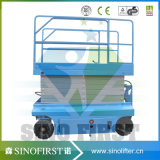 10m Electric Automatic Scissor Lift Platform
