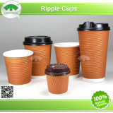 Ripple Paper Cup with Lid