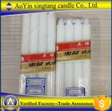 1.6*18 Low Price Pure Wax White Candle Supplier