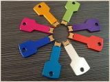 Metal Business Colorful Key Shape USB Pendrive (EM028)