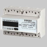 Electronic Three Phase Watt-Hour DIN Rail Wireless Power Meter
