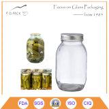 Glass Mason Pickles Jars with Lids