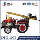 Dfq-100t Portable Small Rock Tractor Drill Machine