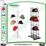 Wire Metal Hat Display Rack Display Hanger