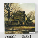 The Lake House Tree Oil Painting (LH-800022)