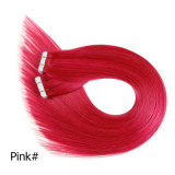 "Skin Weft Remy Hair Extensions Brazilian Remy Tape Hair Straight 16""-24""20PCS Brazilian Thick Human Hair Extensions"