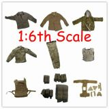 Customized 1/6th Scale Us Army Combat Uniform / Acu Uniform Action Figure Accessories (TGE007)