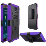 Zizo Advanced Armor Holster Combo Galaxy Mega 2 Case - Purple Black