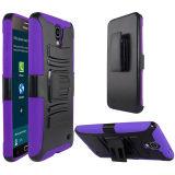 Zizo Advanced Armor Holster Combo Galaxy Mega 2 Case - Purple Black