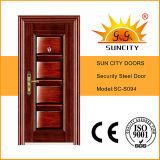 Sc-S094 Factory Price Panel Design Security Iron Door