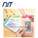 Safer Mobilephone Clear PVC Waterproof Bag Fluorescence
