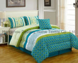 Europe Multi Color Printed Bedding 6-PCS Comfortable Set