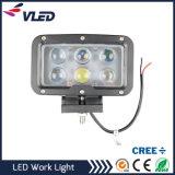 Super Bright 60W Spotlight LED Work Light off Road for Jeep Cabin Boat SUV Truck Car