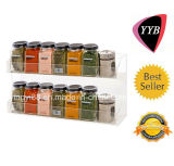 Clear Acrylic Wall Mounted Spice Rack