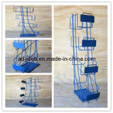 Rolling Rack, Tier Rack, Floor Display Pop Display Rack, Iron Exhibition Rack, Metal Exhibition Rack, Metal Display Rack, Metal Promotion Rack, Rack-07