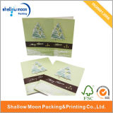 Merry Christmas Paper Greeting Card (QY150031)