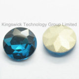 Round Machine Cut Point Back Glass Beads for Decoration