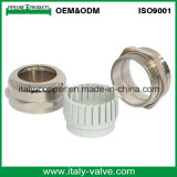 Customized Quality Polishing Nickel Brass Cable Gland Coupling (ZIC-70011)