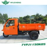 Chinese Waw Cargo Diesel Motorized 3-Wheel Tricycle with Cabin