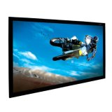 "170"" Home Cinema Projector Screen with Black Velvet Frame"