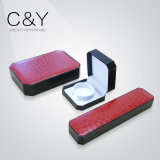 Red Color PU Leather Jewelry Box Set