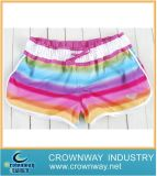 Women′s Colorful Fashion Rainbow Board Shorts