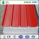 2017 Hot Sale Building Material Steel Structure Corrugated Color Steel Sandwich Panel