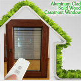 Inswing Aluminum Casement Window for Home Security, Aluminum Clad Wood Casement Window for Our Afghanistan Client