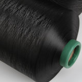 Jinfu 100% Polyester DTY Yarn Black Yarn (150d/48f/2 Him)