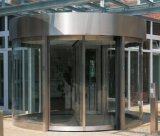 Auto Operation Two Wings Revolving Glass Door