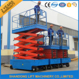 Self-Propelled Scissor Lift with 200kgs Capacity