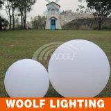 White Cover LED Ball Lighting Garden Decor