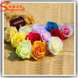 China Manufacturer Decoration Artificial Silk Rose Flower