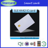 White Smart Card with Sel 4442 Chip